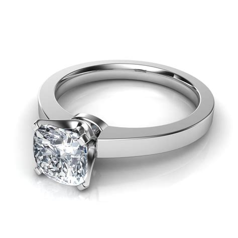 ring cusion 86 cushion wedding rings 404ct cushion cut