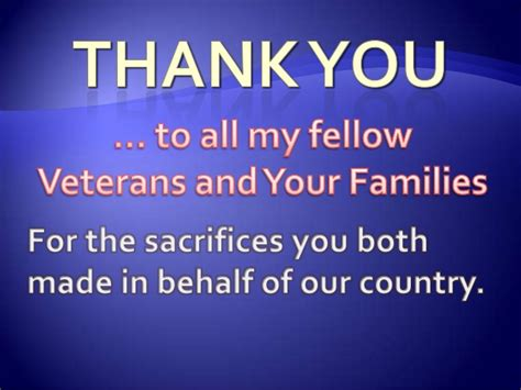 your service thank you veterans for your service