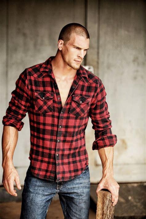 lumberjack style i e plaid shirt for cover of - Lumberjack Style
