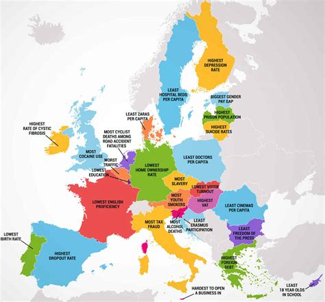all countries in europe map four maps show 50 states and european countries best and