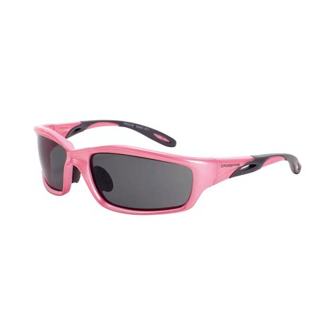radians safety crossfire infinity pink safety eyewear