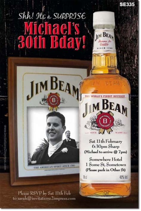 Se  Ee  Birthday Ee   Jim Beam Mens  Ee  Birthday Ee