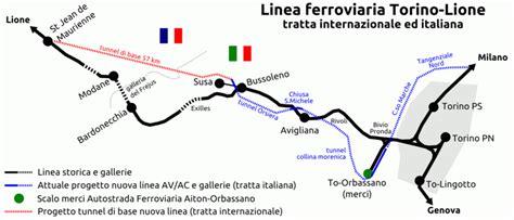 lade da cantiere datei linea torino lione tratta italiana ed internazionale