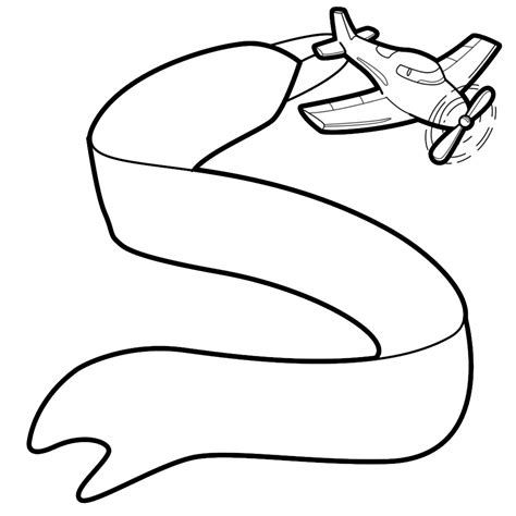 banner and airplane free cliparts clipart best