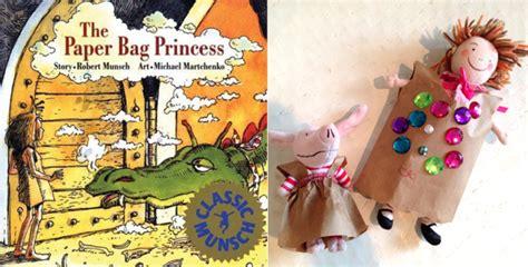 paper bag princess craft paper bag craft shanda mccloskey children s illustrator