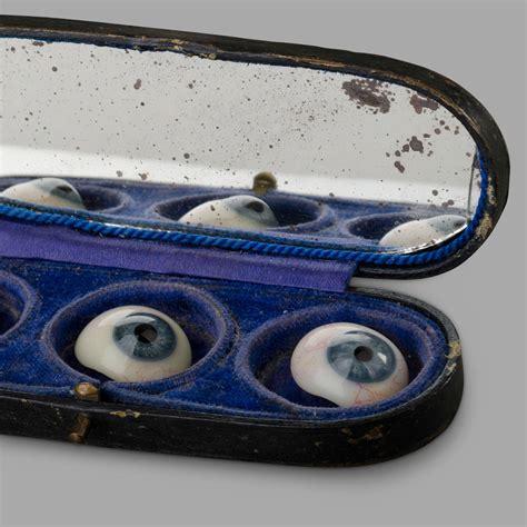 Tokyo1 Eye Protection L Vespa three glass in their storage box at 1stdibs