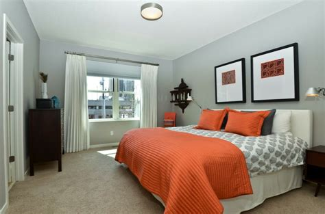 orange master bedroom grey orange bedroom design master pinterest
