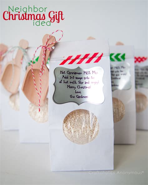 ideal gifts for happy holidays cinnamon milk mix gift idea