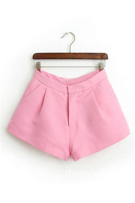 Wide Leg Shorts tomcarry casual wide leg pink tomcarry