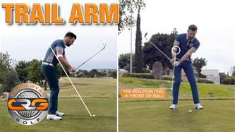 right arm golf swing drills right arm downswing drill youtube
