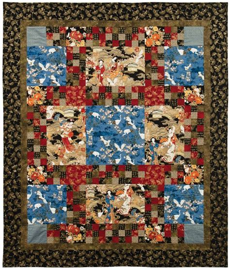Free Japanese Quilt Patterns by 17 Best Images About Quilts On Free Pattern Quilt And Quilting Fabric
