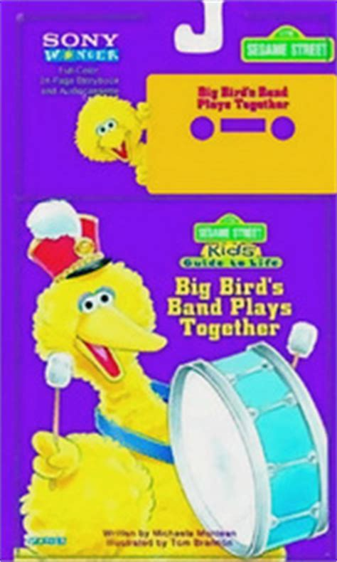 Book Review Dating Big Bird By Zigman by Big Birds Band Plays Together Sesame Guide To