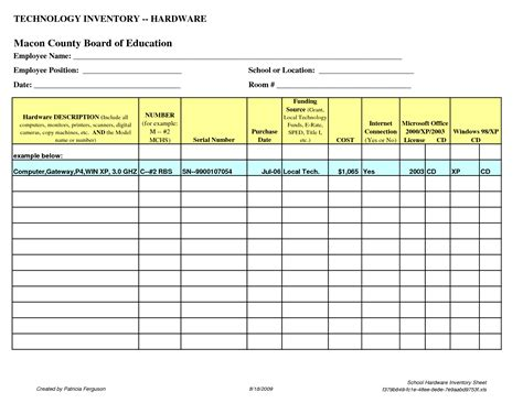 school inventory template best photos of sle office inventory office supply
