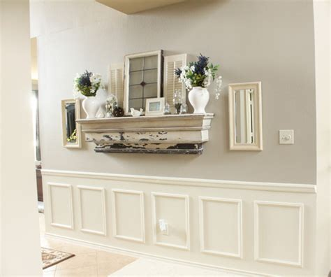 Wainscoting Paint Ideas by Wainscoting Tutorial Hometalk