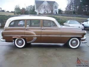 1954 chevy station wagon car original running