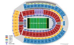 Ohio State Stadium Map by The Gallery For Gt Ohio State Football Stadium Seating Chart