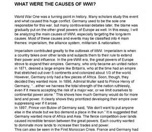 World War 1 Essay by World War 2 Insightful Essays 2016 Car Release Date