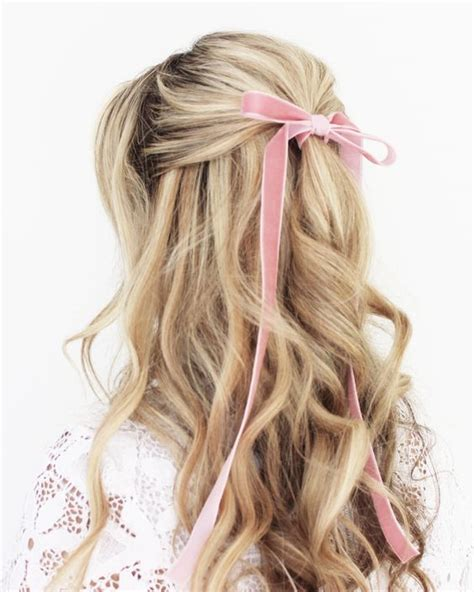 Wedding Hairstyles With Ribbon by Mane Addicts The Prettiest Ribbon Hair Ideas From