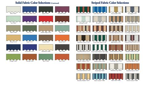 fabric colors patterns awnings of eastern connecticut