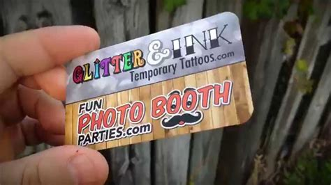 Photo Booth Business Cards