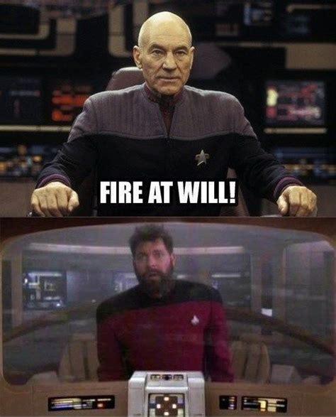 Star Trek Picard Meme - just a little star trek humor ha captain picard and