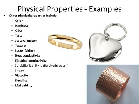 is color a physical or chemical property unit 5 physical and chemical properties and changes ppt