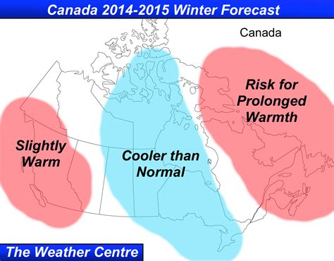 winter weather predictions 2014 2015 from the old farmer s the weather centre canada 2014 2015 winter forecast