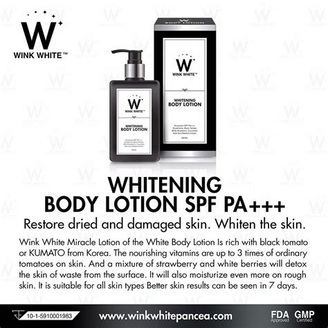 Gluta White Di Indonesia jual jual lotion gluta wink white original import thailand