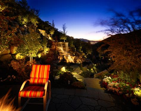 Landscape Lighting Utah Salt Lake City Residence Garden Salt Lake City By Landscape Lighting Pro Of Utah