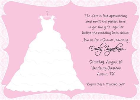 second wedding bridal shower ideas 2nd wedding bridal shower wording invitations ideas