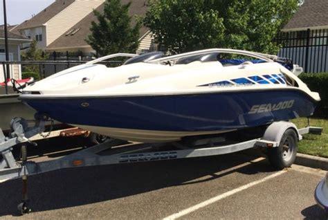 jet boat tower jet boat sea doo speedster 200 370hp low hours wakeboard