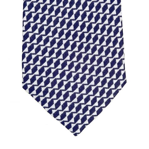 patterned blue u logo shop for designer silk ties from giorgio armani uk