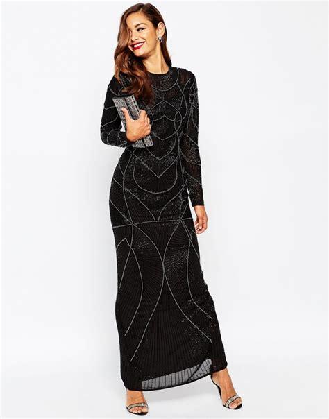 Kimo Maxi By Qiz Boutique robe asos longue motif annee 20 maxi longueur la