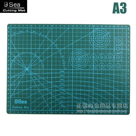 Work Cutting Mat Pad A3 45 X 30cm a3 cutting mat cutting board paper pad sculpture dianban introduction blades 30x45cm estera de