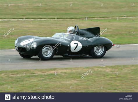 jaguar kingdom jaguar d type sports car at goodwood revival motor racing