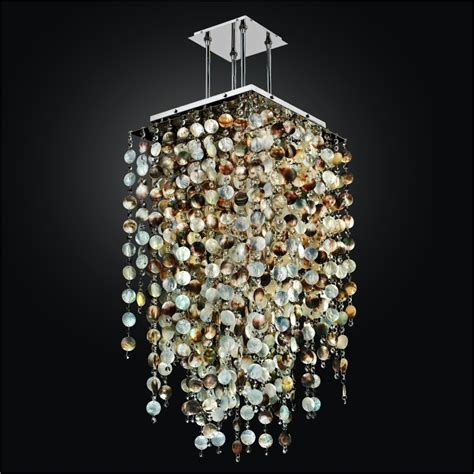 mother of pearl chandelier lighting mother of pearl shell chandelier with crystals cityscape