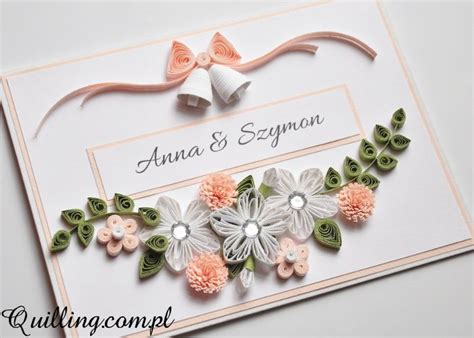 Wedding Anniversary Card Quilling by 13 Best Quilling Wedding Card Images On