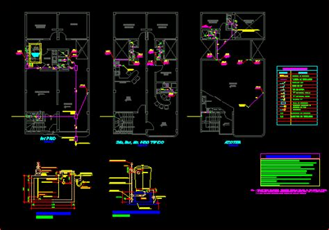 sanitary installation dwg block  autocad designs cad