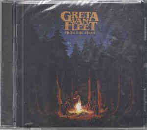 greta van fleet record label greta van fleet from the fires cd at discogs