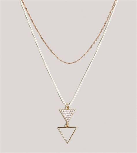 AE Triangle Chain Necklace   Pradux
