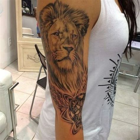 lion arm tattoo sleeve designs ideas and meaning tattoos