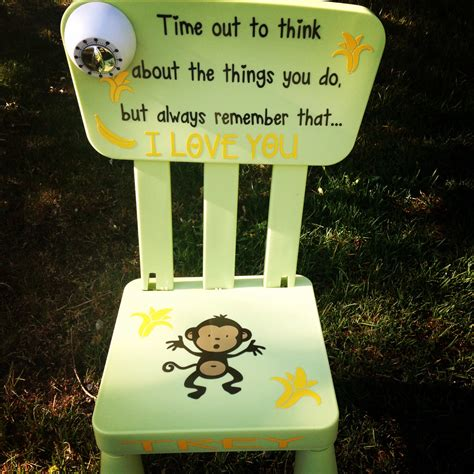 time out chair with timer sale personalized time out chair with timer monkey business