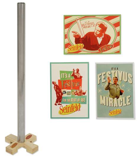 Festivus Decorations by Seinfeld 20 Quot Festivus Pole And Greeting Card Set
