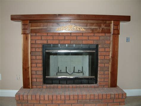 fireplace mantels trim work door replacement rotten wood