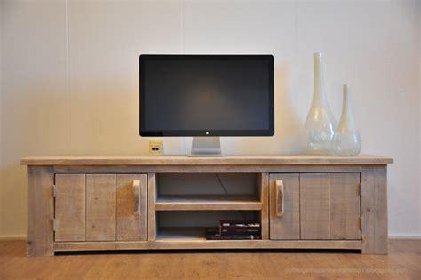 fontein meubelen steigerhouten tv meubel quot fontein quot tv kasten van steigerhout