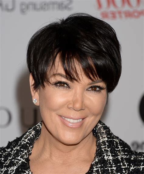 Kris Hairstyles by Kris Jenner Hairstyle Fade Haircut