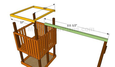 4x4 swing set plans framing footing for 4x8 swingset beam and playhouse