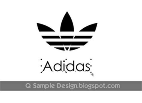 membuat logo adidas punahkawan cara membuat logo adidas