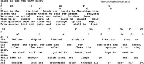 blest be the tie that binds with lyrics gospel song blest be the tie that binds trad lyrics and
