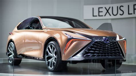 rose gold lexus the lexus lf 1 limitless concept is a futuristic rose gold